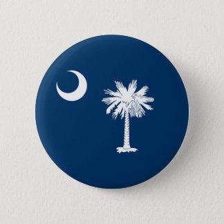 South Carolina State Flag 2 Inch Round Button