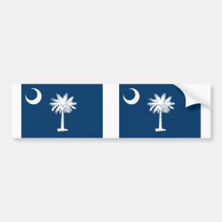 South Carolina state flag Bumper Sticker