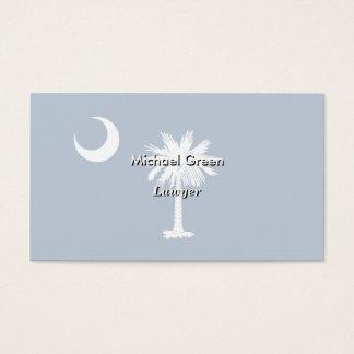 South Carolina State Flag Business Card