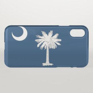 South Carolina State flag iPhone X Case
