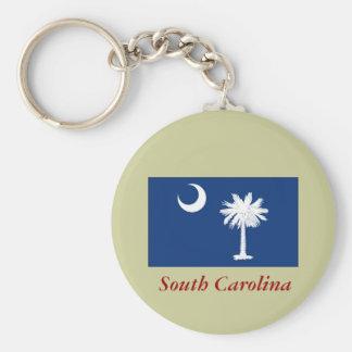 South Carolina State Flag Keychain