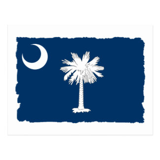 South Carolina State Flag Postcard