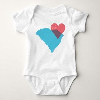 South Carolina State Love Baby Shirt