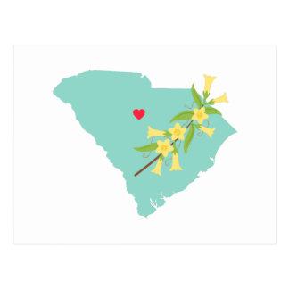 South Carolina State Postcard
