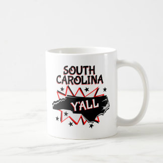 South Carolina State Pride Y'all Coffee Mug