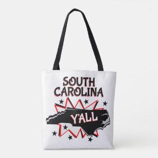 South Carolina State Pride Y'all Tote Bag