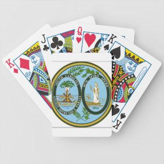 South Carolina State Seal Bicycle Playing Cards