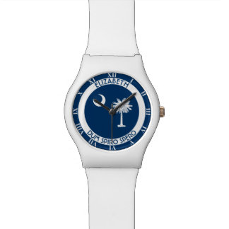 South Carolina The Palmetto State Personal Flag Watch