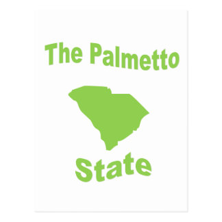 South Carolina: The Palmetto State Postcard