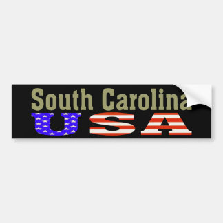 South Carolina USA! Bumper Sticker