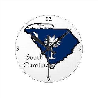 South Carolina Wall Clock