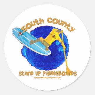 South County Logo Classic Round Sticker