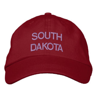 South Dakota Cap Embroidered Baseball Cap