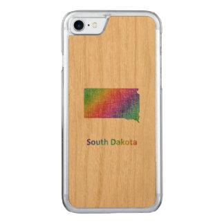South Dakota Carved iPhone 7 Case