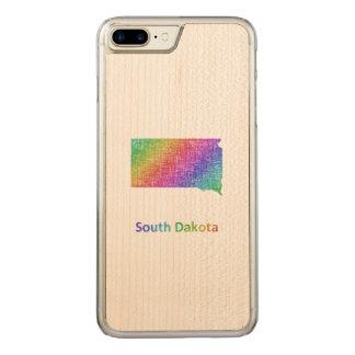 South Dakota Carved iPhone 7 Plus Case