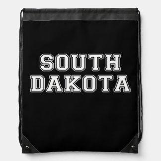 South Dakota Drawstring Bag