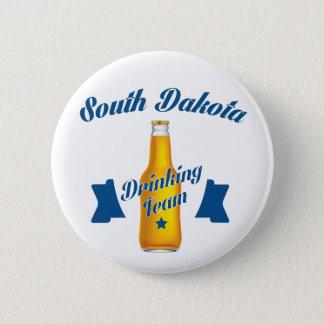 South Dakota Drinking team 2 Inch Round Button