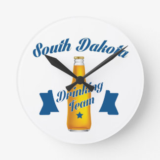 South Dakota Drinking team Clocks