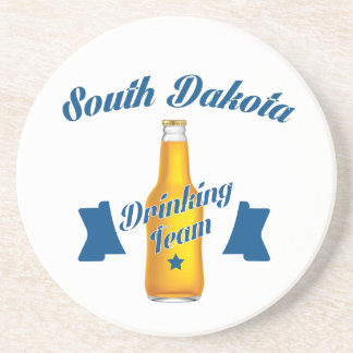 South Dakota Drinking team Coaster