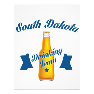 South Dakota Drinking team Letterhead
