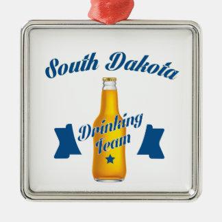 South Dakota Drinking team Metal Ornament