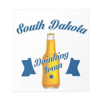 South Dakota Drinking team Notepad