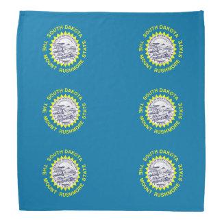 South Dakota flag Bandannas