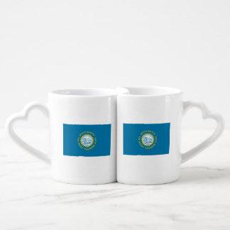 South Dakota Flag Coffee Mug Set