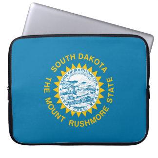 South Dakota Flag Laptop Sleeve
