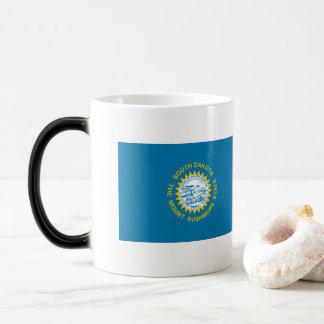 South Dakota Flag Magic Mug