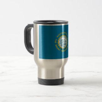 South Dakota Flag Travel Mug