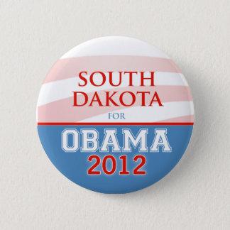 SOUTH DAKOTA for Obama 2012 2 Inch Round Button