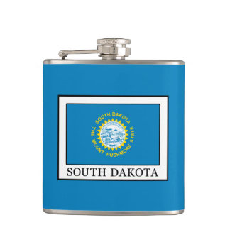 South Dakota Hip Flask