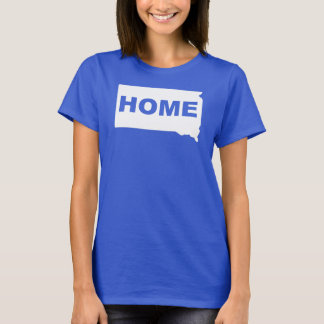 South Dakota Home Away From State T-Shirt Tees