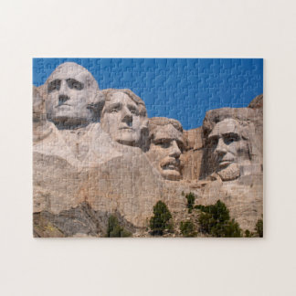 South Dakota, Keystone, Mount Rushmore Jigsaw Puzzle