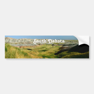 South Dakota Landscape Bumper Sticker