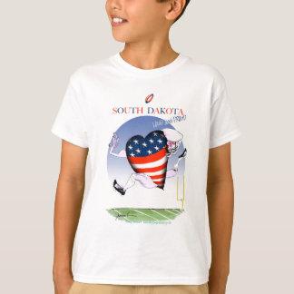 south dakota loud and proud, tony fernandes T-Shirt