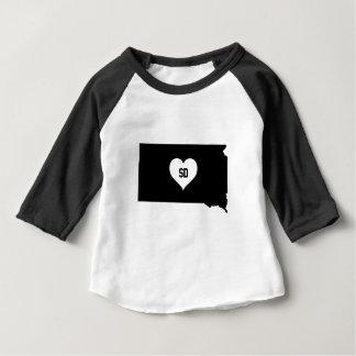 South Dakota Love Baby T-Shirt