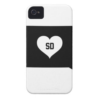 South Dakota Love Case-Mate iPhone 4 Case