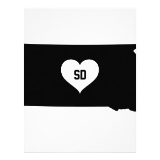 South Dakota Love Letterhead