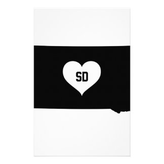 South Dakota Love Stationery