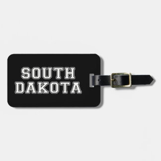 South Dakota Luggage Tag