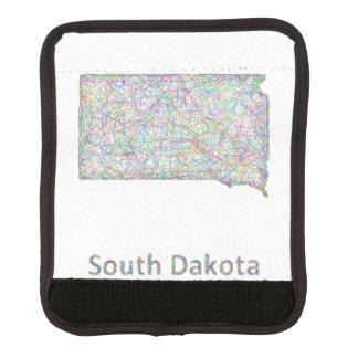 South Dakota map Handle Wrap