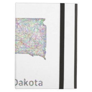 South Dakota map iPad Air Case
