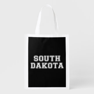 South Dakota Reusable Grocery Bag
