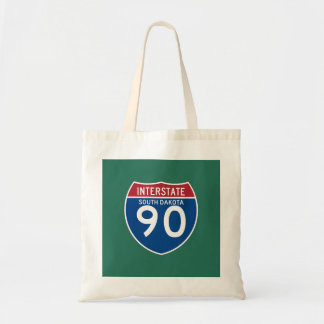 South Dakota SD I-90 Interstate Highway Shield -