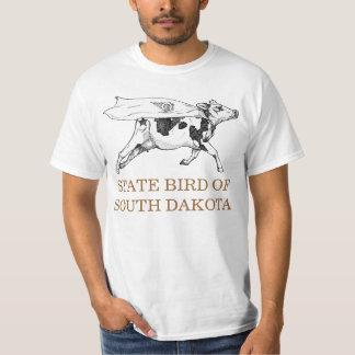 SOUTH DAKOTA STATE BIRD: THE COW T-Shirt