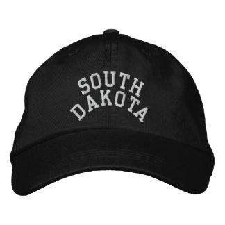 South Dakota State Embroidered Embroidered Hat