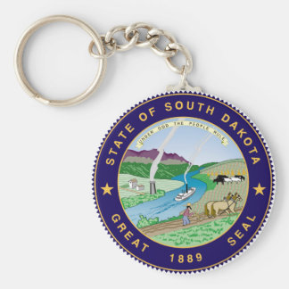 south dakota state flag united america republic sy keychain