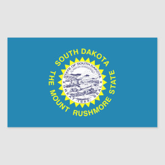 South Dakota State Flag, United States Sticker